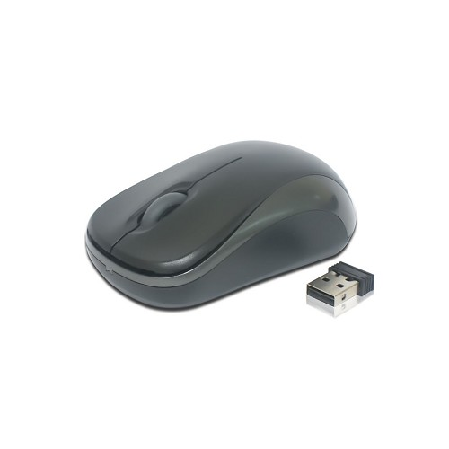 MICROPACK Wireless Mouse [MP-766W] - Black/Gray - Mouse Basic